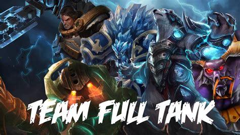 best tank lol league of legends team full tank vs normal team full