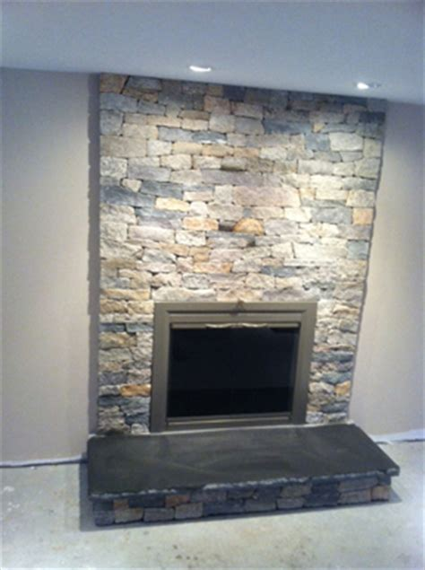 fireplace facelifts stone veneer hearth stone real stone