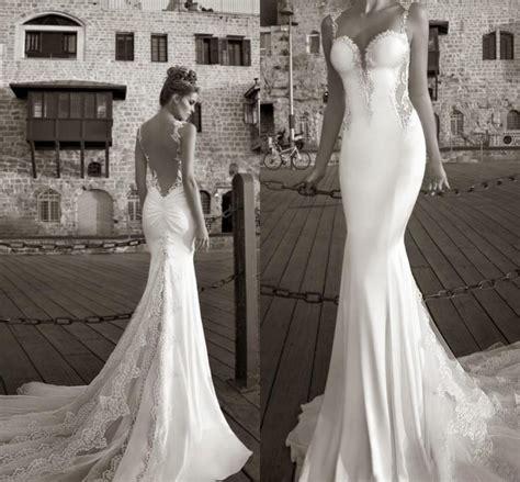 Best Selling 2015 Galia Lahav Summer White Lace Bare Back