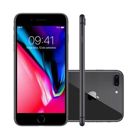 iphone 8 plus 5 5 pol c 226 mera 12mp dupla 7mp 64gb cinza r 4 967 99 em mercado livre