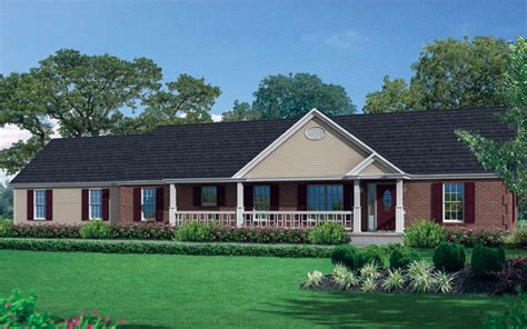 one story ranch modular home one story modular homes