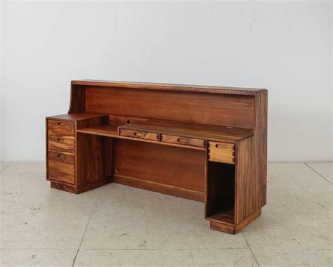 Craft Desks For Sale by Unique And Large Jim Sweeney Wooden Studio Craft Desk Usa