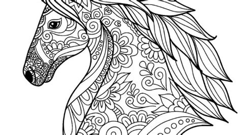 detailed unicorn coloring page unicorn coloring page