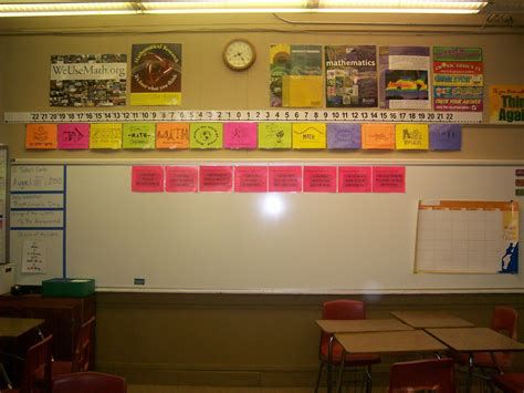 printable number line wall display math love what s on my classroom walls