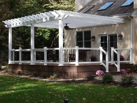 Decks With Pergolas Deck Construction Decks R Us Pergolas On Decks