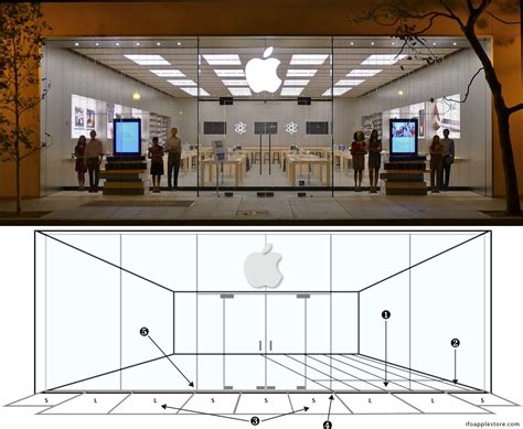 design apple store new apple retail store design is perfectly symmetrical