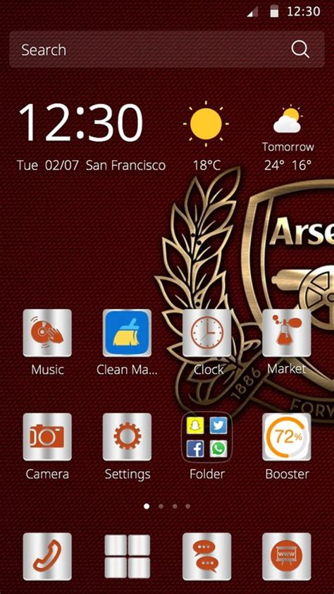 download themes arsenal arsenal theme free android theme download appraw