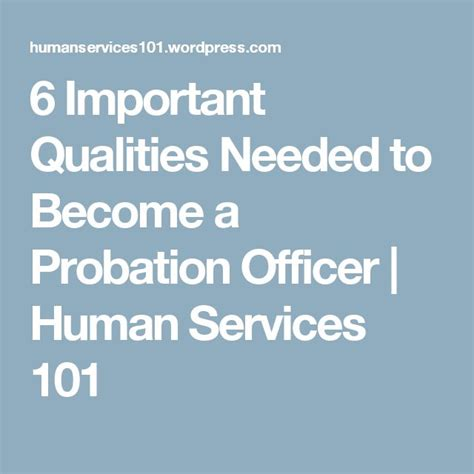Can You Become A Probation Officer With A Criminal Record 25 Best Ideas About Probation Officer On Officer Criminal
