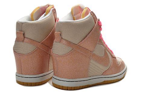 nike dunk wedges grey pink diskon nike dunk nike sky high dunks vntg wedges grey pink 543257
