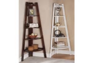 Corner Ladder Bookcase Corner Shelf Bookcase Shelf Accessories Showroom Categories Poundex Associated Corporation
