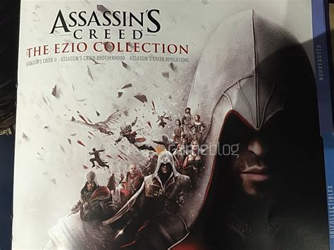 Kaset Ps4 Assassin S Creed The Ezio Collection assassin s creed the ezio collection ps4 marketing materials leak push square