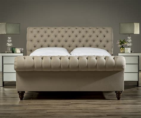 chesterfield bed frame stanhope chesterfield bed upholstered beds from sueno