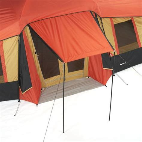 ozark trail 3 room vacation home tent ozark trail 10 person 3 room vacation tent with built in
