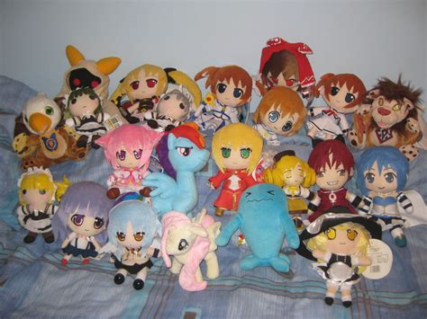 anime plushie collection 2 by hao 007 on deviantart