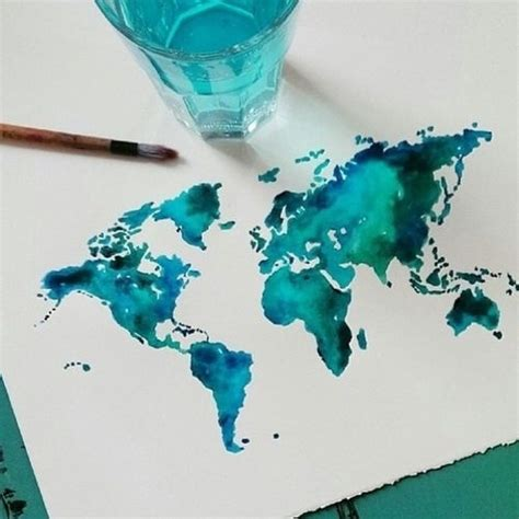 water color map map watercolor