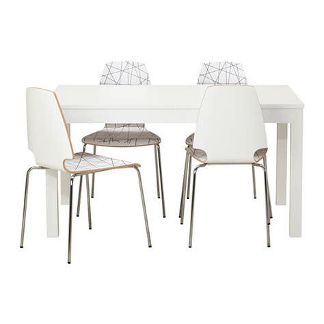 Meja Dan Kerusi Kedai Makan bjursta vilmar meja dan 4 kerusi ikea