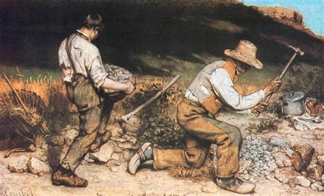 Courbet Sleepers by Realism 1850 At Florida International