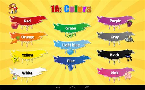 kids color 1a learn colors for kids android apps on google play