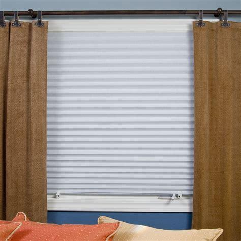 room darkening window shades redi shade room darkening original pleated window shade home home decor window treatments