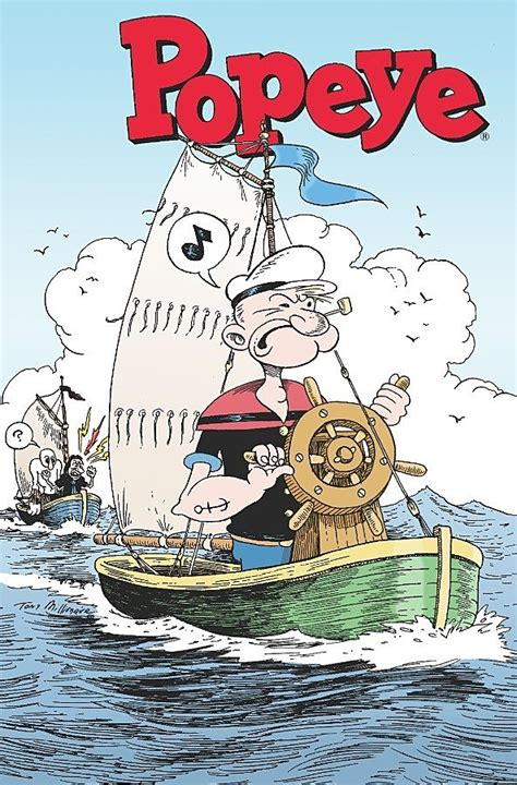 cartoon popeyes boat popeye 2 pits sailor against actor for olive oyl s