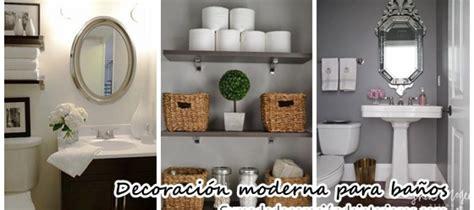como decorar un bano elegante hermosas ideas para decorar tu ba 241 o moderno y elegante