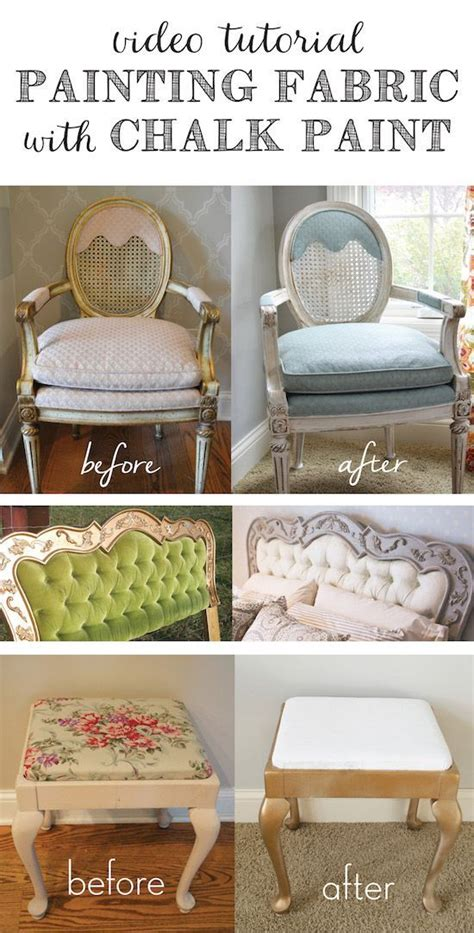 diy chalk paint tutorial tutorial painting fabric with chalk paint