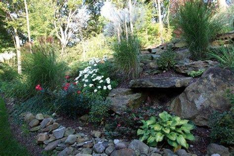 hillside landscaping idea gardening pinterest