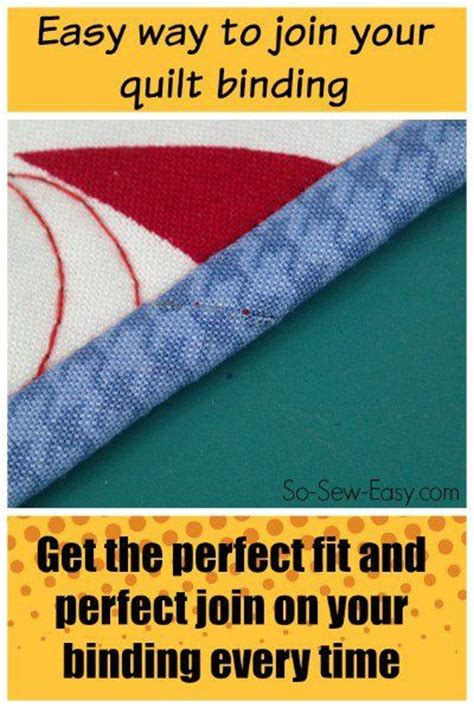 How To Join Quilt Binding by Quilt Binding Quilt And Easy Tricks On