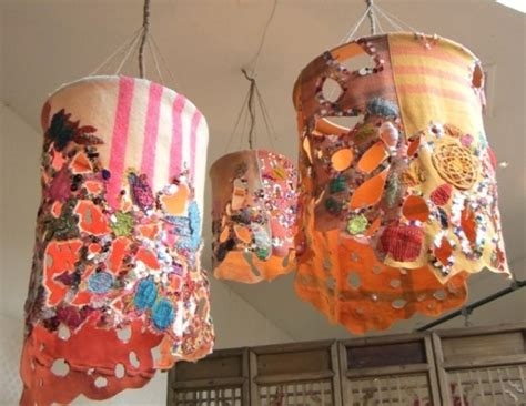 bohemian decor diy projects to try out this season flannel lantern 10 bohemian home decor projects