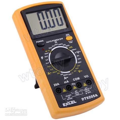 Multimeter Excel best quality digital multimeter electrical meter excel
