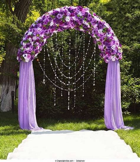 Wedding Arch Purple 20 beautiful wedding arch decoration ideas for creative