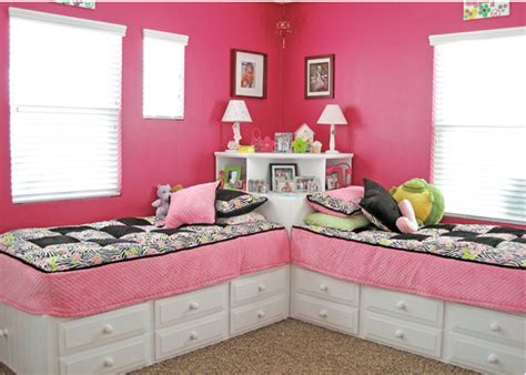2 beds in 1 small space kid bedroom for two our home sweet home