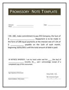 Personal Loan Promissory Note Template by 45 Free Promissory Note Templates Forms Word Pdf