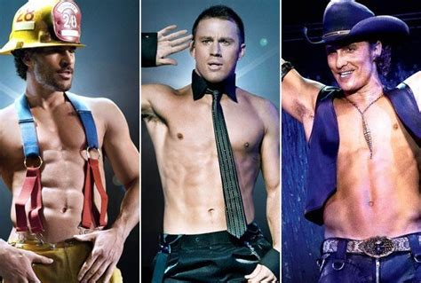we became male strippers magic men of magic mike and 10 more guys we want to see strip