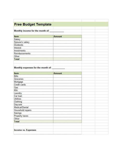 lab template 30 budget templates budget worksheets excel pdf
