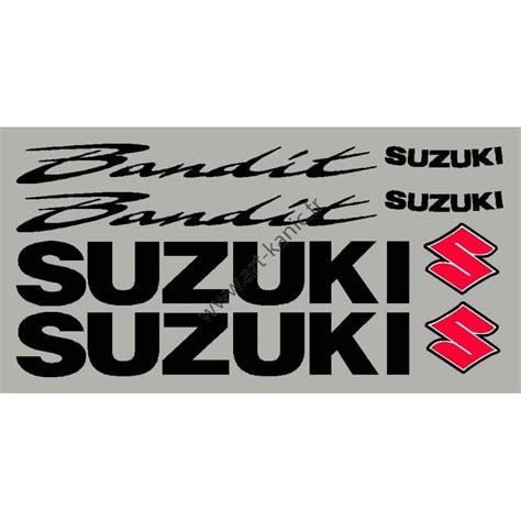 Suzuki Bandit Aufkleber by Aufkleber Kit F 252 R Bandit