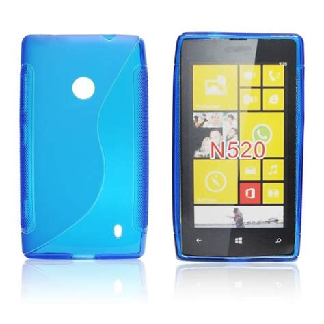 Nokia Lumia All Type szilikon tok s type nokia lumia 520 blue