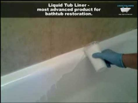diy bathtub liner liquid tub liners most advanced and convinient way for