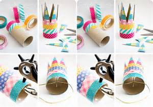 Paper Roll Crafts - easy crown made of toilet paper rolls enchanted