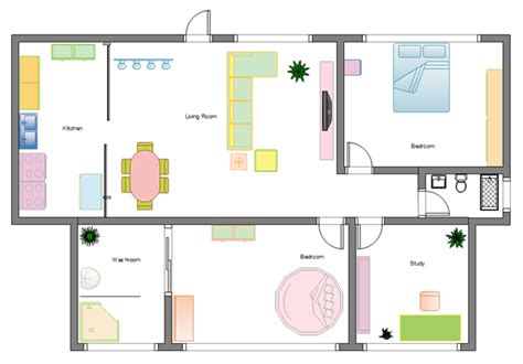 how to make a house floor plan design home floor plans easily