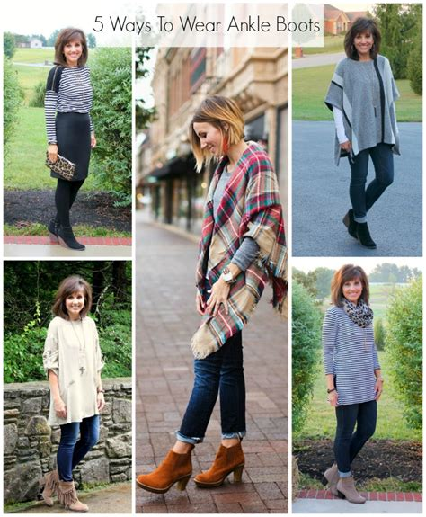5 ways to wear ankle boots grace