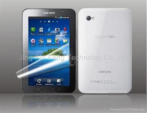 Samsung Galaxy Tab 1 Gt P1000 screen protector for samsung galaxy tab p1000 jpf 13 jpf china manufacturer mobile phone