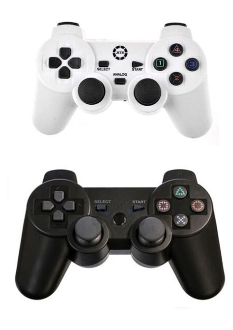 Multi Wireless Gamepad 24g For Ps2 Ps3 Pc Windows Android jite cx 301 2 x 2 4g wireless usb pc controller pad joystick dual shock for sony ps2 ps3