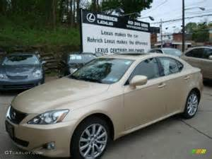 Lexus Is 250 Colors 2008 Golden Almond Metallic Lexus Is 250 Awd 8252370
