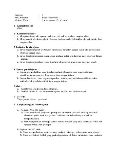format laporan quick wins laporan hasil observasi kelas x contoh win