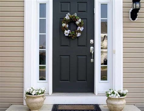 Front Door Colors For Beige House | 187 best front door colors for a beige home