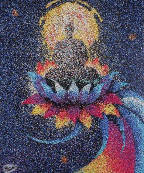 colored sand painting by ako tsubaki craft gift ideas