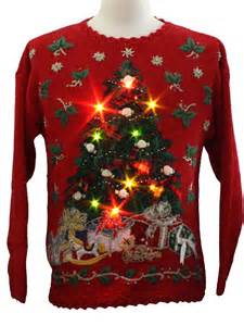 Funny christmas sweaters that light up best images collections hd