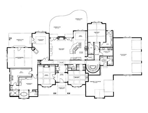 chateau floor plans 4 bed chateau house plan 9025pd 2nd floor master