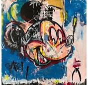 Dillon Boy  Mousquiat Mickey Mouse Skull Graffiti Pop